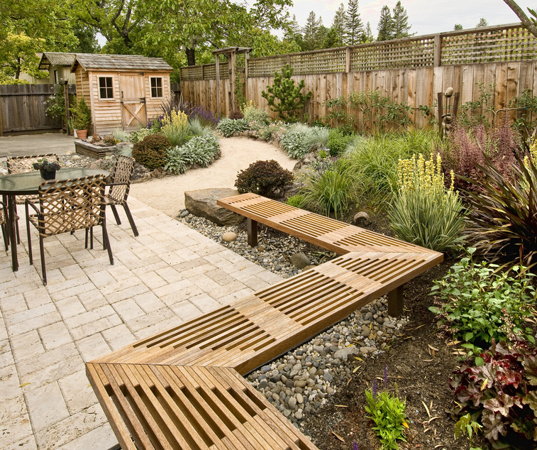 hardscaping design ideas